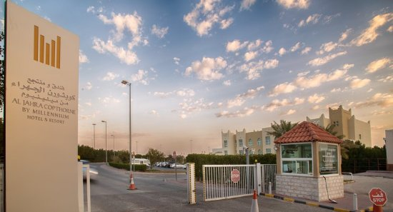 Al Jahra Copthorne Hotel & Resort: Hotel Entrance (Check Point )