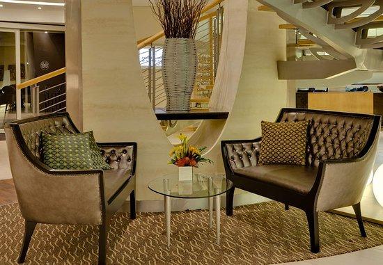Illovo, Sudáfrica: Lobby Seating Area