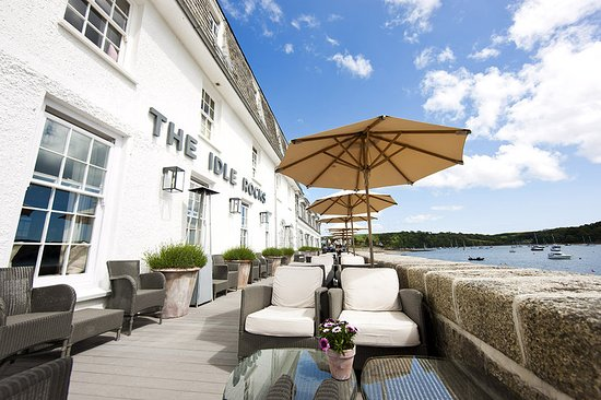 St Mawes, UK : Terrace