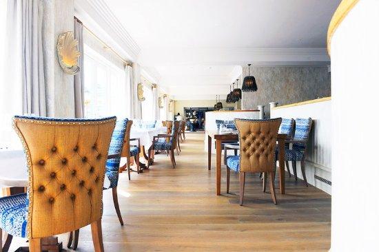 St Mawes, UK: Restaurant