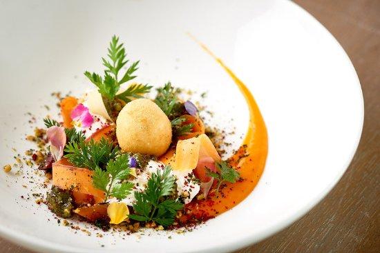 St Mawes, UK: Gourmet dish