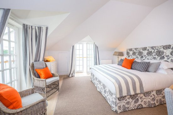 St Mawes, UK: Grand seaview room