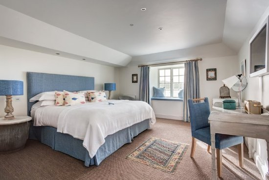 St Mawes, UK: Harbour room