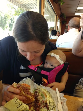 Monterey Park, CA: EYEING THE PASTRAMI AT 3 MONTHS