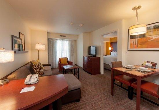 West Greenwich, Rhode Island: One-Bedroom Suite Living Area