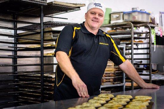 Nimbin, Australia: Making pies 2016