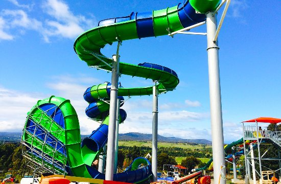 Whittlesea, Australia: New Gravity Wave - World Breaking Waterslide