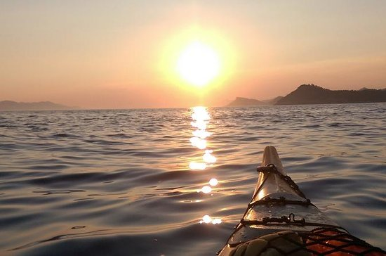 Sunset Kayaking to Lopud Island