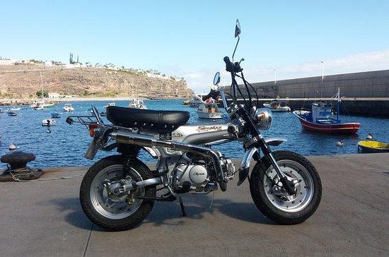 Rent SkyTeam 125cc Motorbike for 1 day in La Gomera