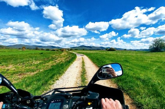 Quad safari Velebit et route premium...