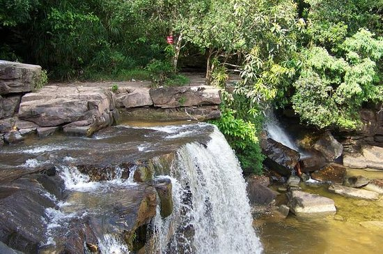 Kbal Chhay Waterfall and Sihanouk...
