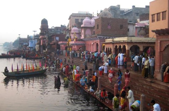 Day tour of Vrindavan and Mathura from...