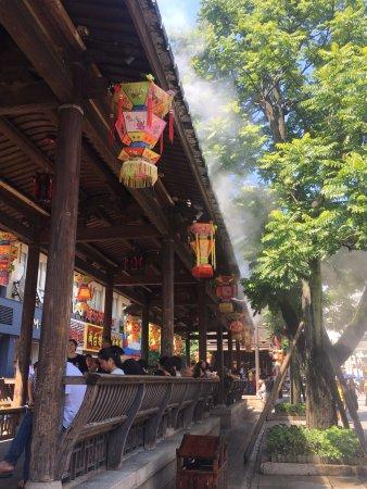 Fuzhou, China: 福州:三坊七巷休憩所