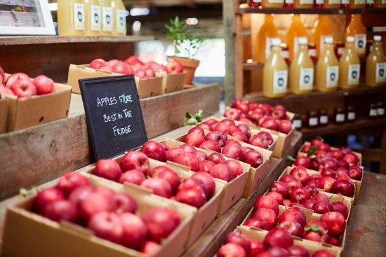 Blackheath, Αυστραλία: the apples