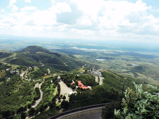 Cerro del cubilete: Hermosas Vistas desde el Mirador