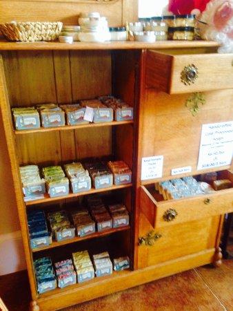 Willamina, Oregon: Handmade soaps