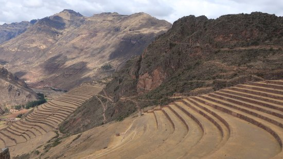 Lares Trek: Pisac, one of the scenic Inca ruins in the Sacred valley