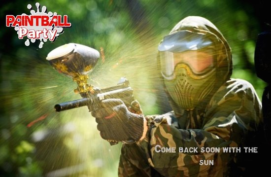 Mae Nam, Tailandia: New owner of the Paintball party Samui