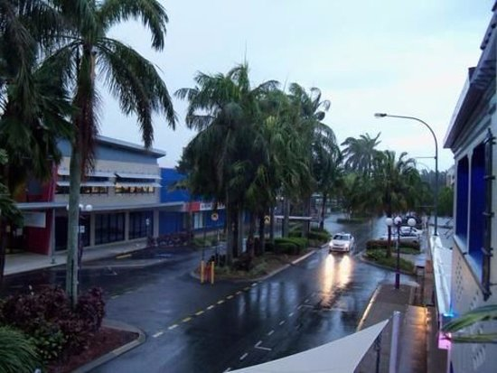 Mackay, Australia: view from room