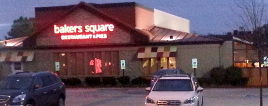 Orland Park, IL: front of & entrance to Bakers Square