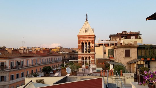 View Picture Of Ambrosia Rooftop Restaurant Bar Rome