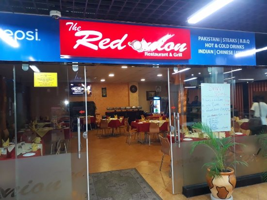 Red Onion: outside view