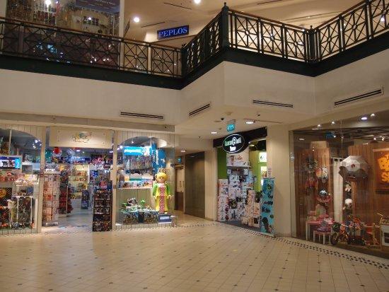 Tanglin Mall Bazaar: Inside the mall