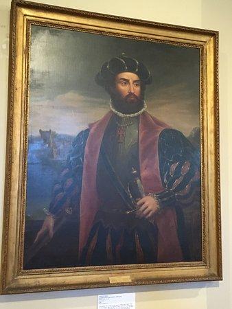 Ciudad del Cabo Central, Sudáfrica: portrait of Vasco da Gama