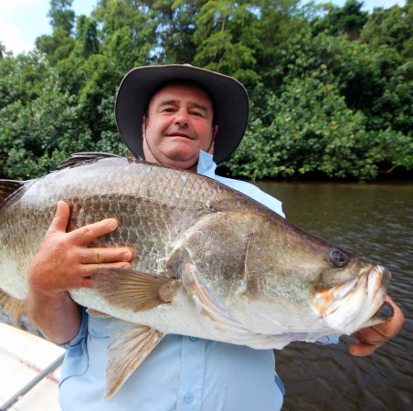 Cooktown, Australia: Endeavour River barra