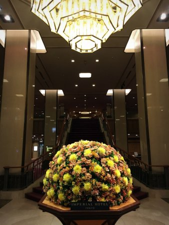 Imperial Hotel Tokyo: Lobby
