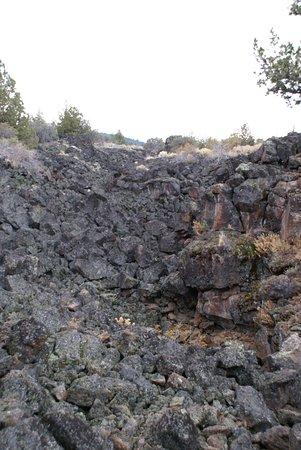 Tulelake, Kalifornia: Gesteinsformation