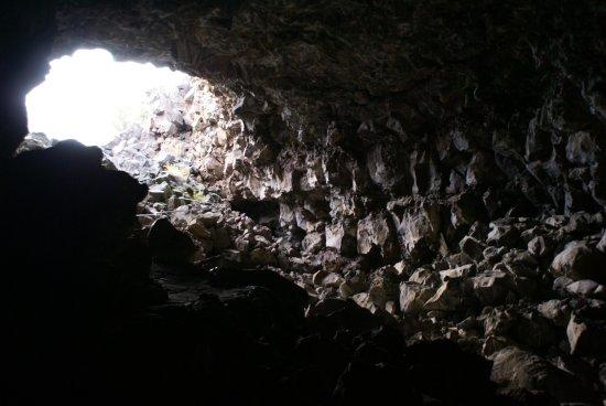 Tulelake, Καλιφόρνια: Abgang zu einer Höhle