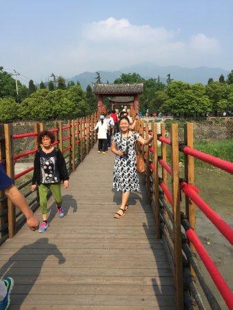Dujiangyan, Κίνα: The Anlan bridge