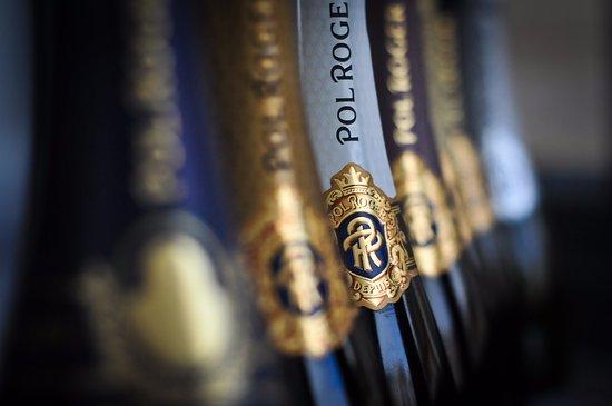 Prestbury, UK: The full range from our Champagne partner Pol Roger