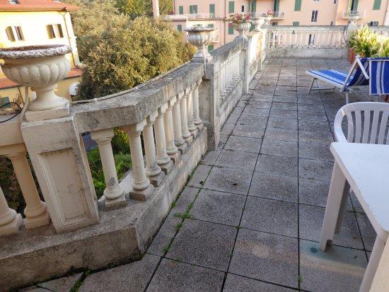 Hotel Parma e Oriente : private terrace