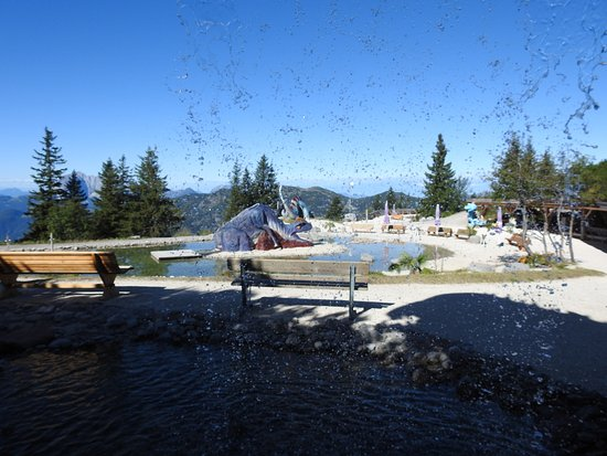 Waidring, Austria: Triassic Park. Great place for you alone, in 2, with kids or for groups.