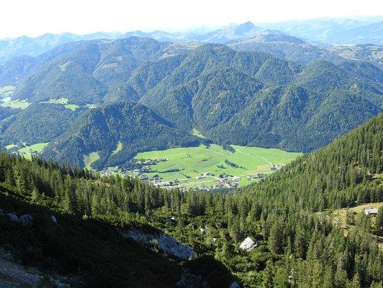Waidring, Austria: Triassic Park. View from the Steinplatte
