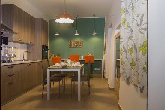 la cucina per la colazione - Foto di La Finestra sul Cortile ...