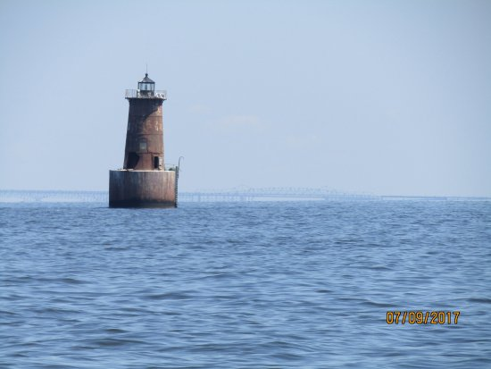Maryland: this is the old light house located off kent island at bloody point.
