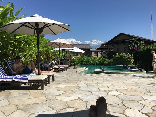 Temple Tree Resort & Spa: This is the most peaceful, relaxing resort in Pokhara. Devine