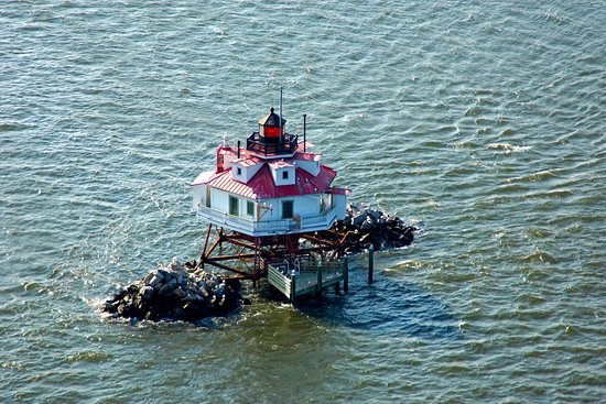 Maryland: this is thomas point light house. it's located just north east of south river. great fishing spo