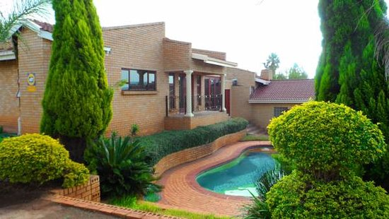 Centurion, South Africa: A view from outside area showcasing our swimming pool