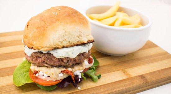 "Centurion, Sydafrika: ""Get Him to the Greek"" Burger"