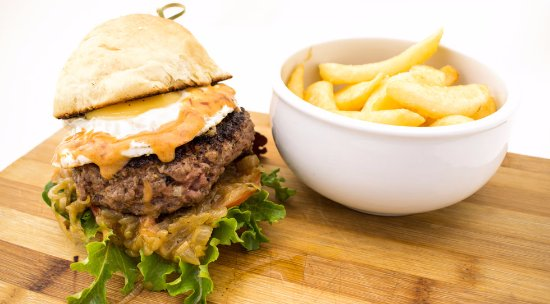 Centurion, Sydafrika: Porralicious Burger