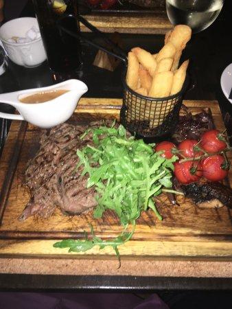 Inverurie, UK: 10 oz ribeye steak