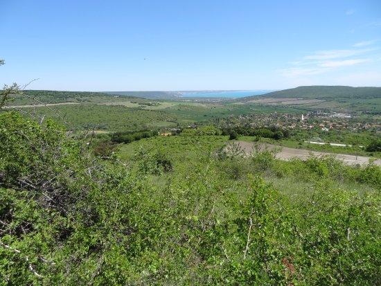 Primasol Ralitsa Superior Hotel: A view from the hills on Jeep Safari
