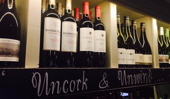 Chorleywood, UK: Plenty of choice from our wide range of wines