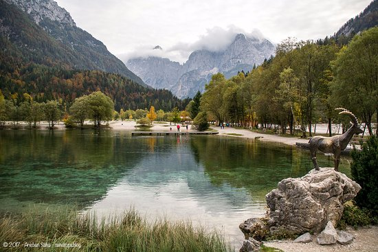 Kranjska Gora, Slovenia: Lake Jasna