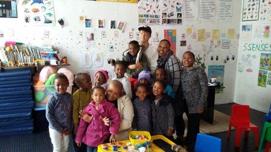 Guguletu, Южная Африка: Besuch im kindergarten