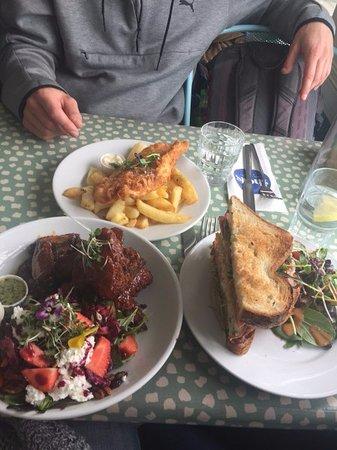 Strandhill, Irlanda: The food!